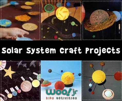 solar system crafts for solar system models and solar system projects
