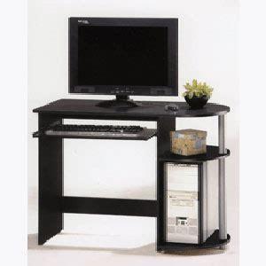 Black And Silver Computer Desk Computer Desks Computer Desk 4411 Pjfs Nationalfurnishing