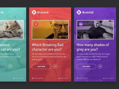 quiz design inspiration 52 best quiz ui images on pinterest user interface