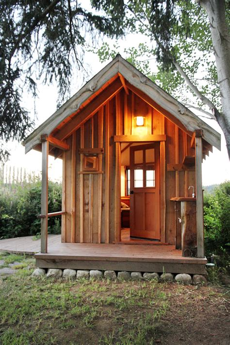 Tiny Cabin by Small One Room Cabin Provides Stress Release Cabin Life