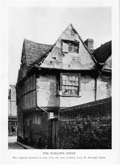 christopher marlowe s childhood home in canterbury