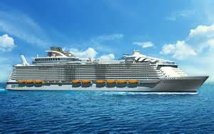 Royal caribbean unveils new oasis class cruise ship luxury travel