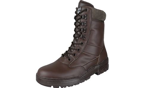 combat discount code brown leather army combat boots forces discount