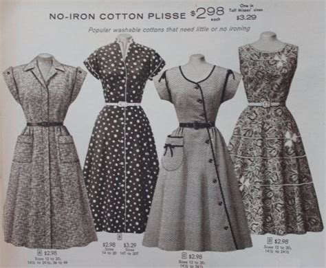 1950s fashion history costume history 50s social history 1950s fashion 1950s house dresses and aprons history