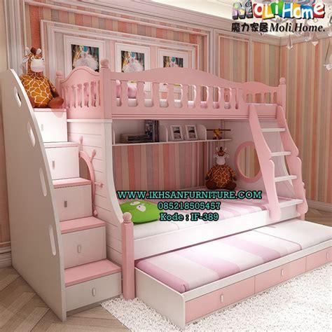 Ranjang Susun model ranjang susun anak perempuan terbaru set kamar anak