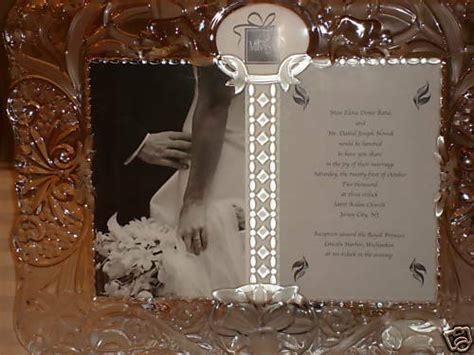 mikasa cherished moment picture frame good ebay