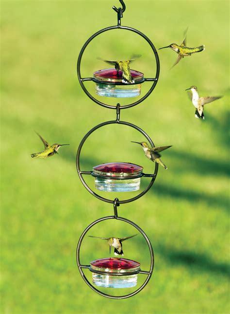 duncraftcom sphere hummingbird feeder set