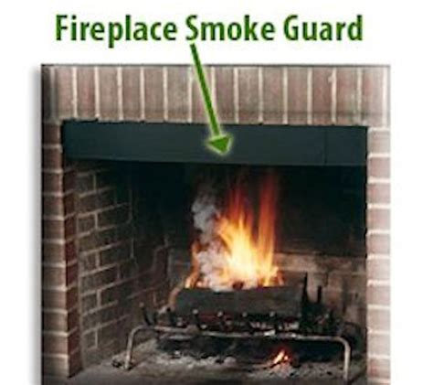 Gas Fireplace Maintenance Do It Yourself by Fireplace Adjustable Smoke Guard Northshore Fireplace