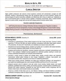 Clinical Services Manager Sle Resume by Sle Clinical Manager Resume 9 Exles In Pdf Word