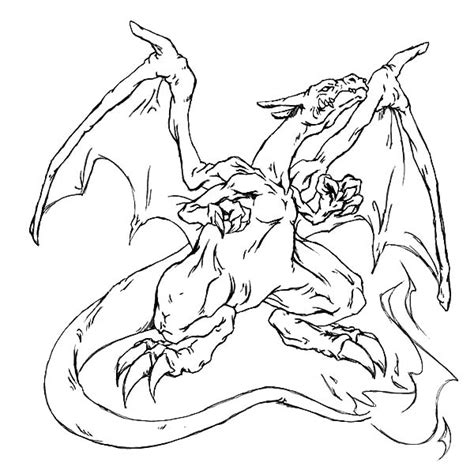free pokemon mega charizard coloring pages art
