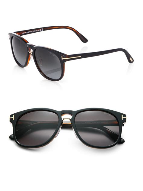 Tom Ford Eyewear by Tom Ford Franklin Sunglasses In Black For Lyst