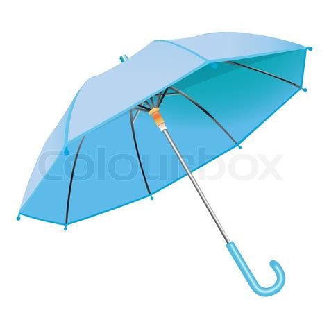 umbrella layout vector blue umbrella against white background abstract vector