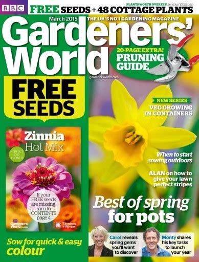 Gardeners World by Gardeners World Magazine March 2015 Subscriptions