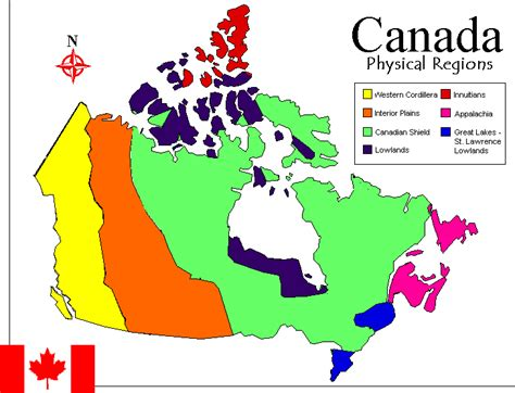 us and canada physical map quiz unit 1 land geography quot our grade 8 journey quot warman
