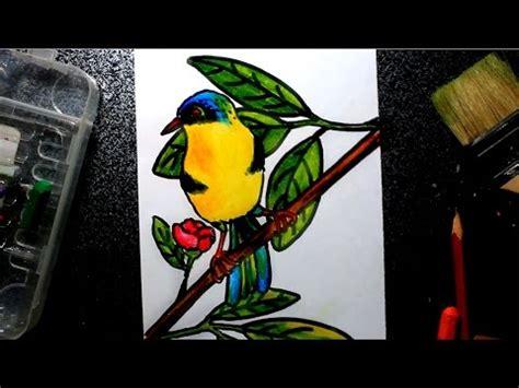 cara membuat anak versi naruto cara menggambar burung untuk anak anak 1 versi cepat