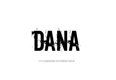 dana tattoo design name 06 png