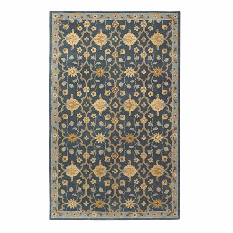 home decorators collection rugs home decorators collection exeter blue 5 ft x 8 ft area
