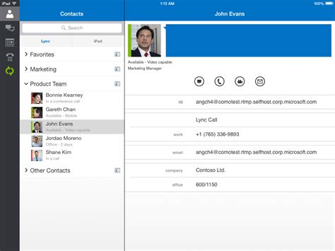 lync mobile app lync mobile update for ios and windows phone viewing