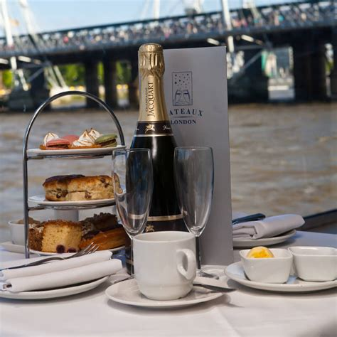 thames river cruise afternoon tea deals afternoon tea cruise on the thames for two buy from