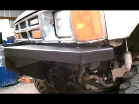 1985 toyota front bumper 1985 toyota 4runner winch bumper 3 bumpers done