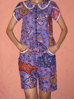 Celana Kulot Batik Tulip yuanitacik jahitan 4 jumpsuit pendek batik batik jumpsuit