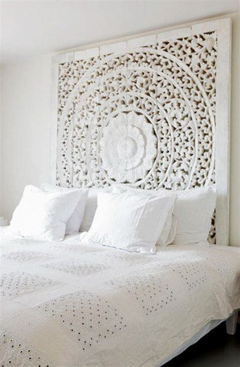 fantastic carved mandala headboard bedrooms