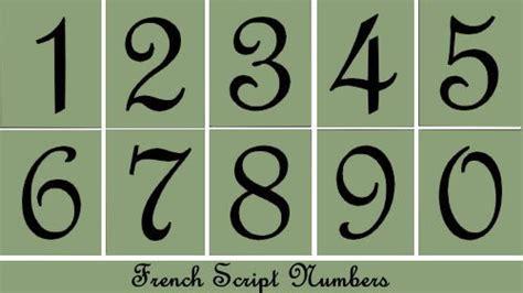 fancy printable numbers 1 10 10 best photos of fancy numbers to print free printable