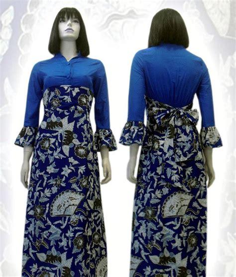 baju batik modern terbaru wanita pria couple muslim online 100 gambar model baju gamis batik wanita modern dengan 20