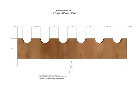 build   wine rack plans  woodworking