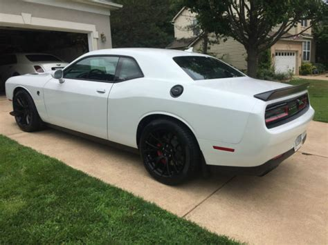 2015 Dodge Challenger Hellcat   Ivory White Pearl
