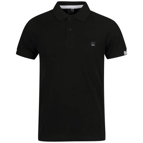 polo shirt bench bench men s resting polo shirt black clothing zavvi com