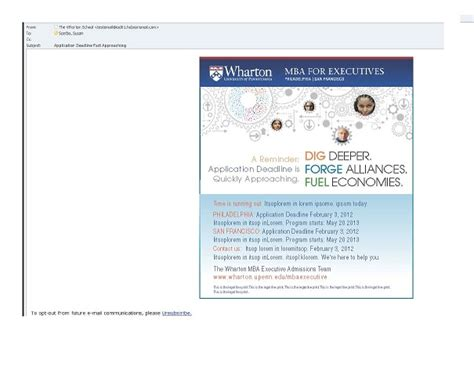 Wharton Mba Enabling Technologies Course Materials by Wharton Executive Mba Program Dig Deeper Recruitment