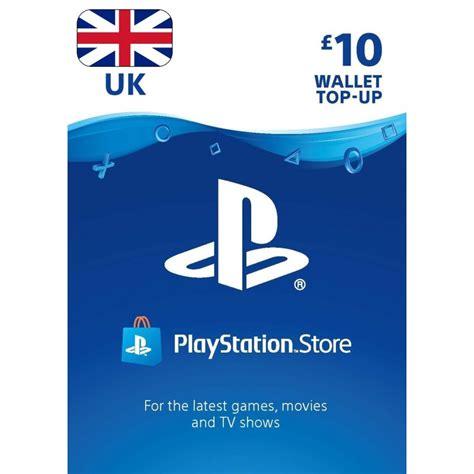 Gift Card Playstation Store - 10 163 uk playstation store gift card ps3 ps4 ps vita digital code