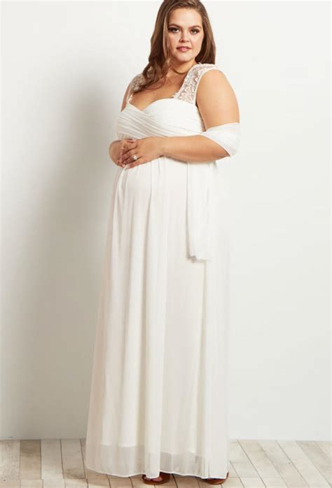 Wedding Dresses Maternity by 23 Maternity Wedding Dresses