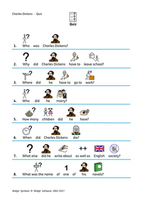 charles dickens biography quiz charles dickens word search by sfy773 teaching resources
