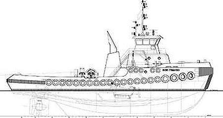 tow boat drawing jensen completes tugboat design florida transportation today