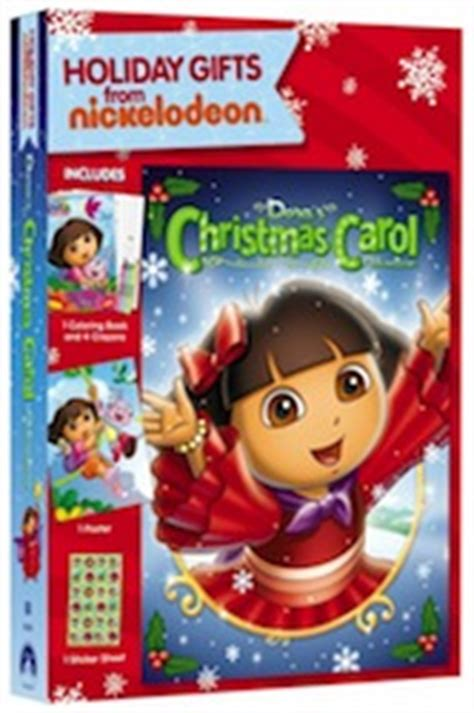 dora s christmas carol adventure holiday gifts dvd giveaway