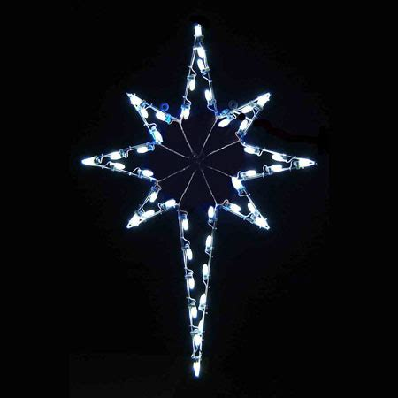 led star of bethlehem 4 8 white