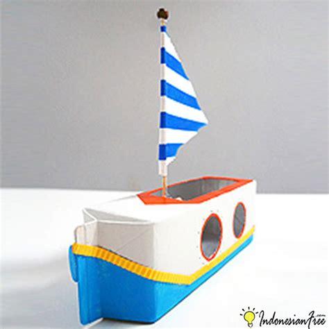 cara membuat kapal mainan dari barang bekas cara membuat mainan anak edukatif sendiri dengan barang bekas