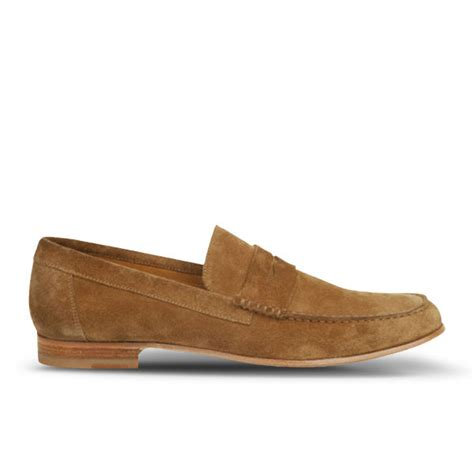 paul smith loafers uk paul smith shoes s casey suede loafers tobacco
