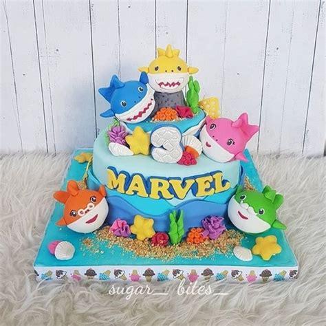 Mainan Baby Shark jual birthday cake baby shark sugar bites