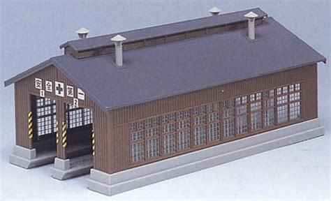 kato 23 225 wooden engine shed