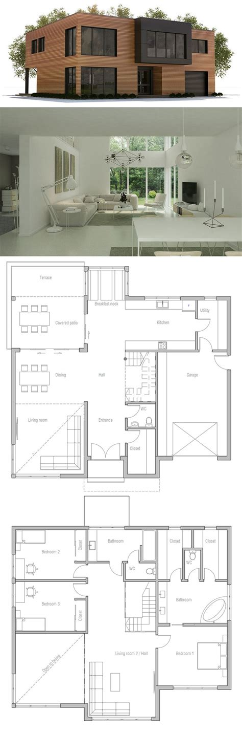 minimalist modern house plans 1000 ideas about minimalist house on pinterest minimalist house design small house