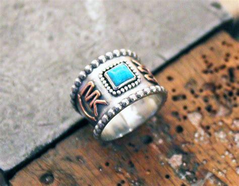 Handmade Western Jewelry - custom livestock brand ring custom brand ring western