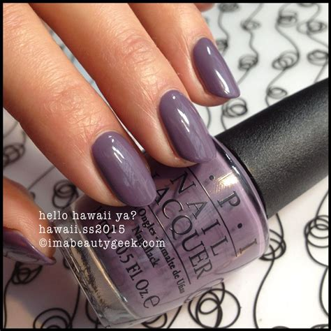 best opi pedicure color for spring opi hello hawaii ya opi hawaii 2015 swatches on click
