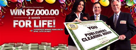 Pch Sweepstakes 7000 A Week - 7000 00 a week for life share the knownledge