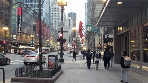 chicago lights 2017 state in downtown chicago march 23 2017