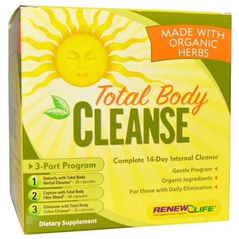 Organic Detox Cleanses by Renew Organic Total Cleanse 14 Day Cleanse