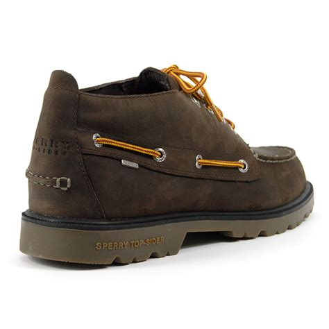 sperry top sider a o lug chukka waterproof leather boots