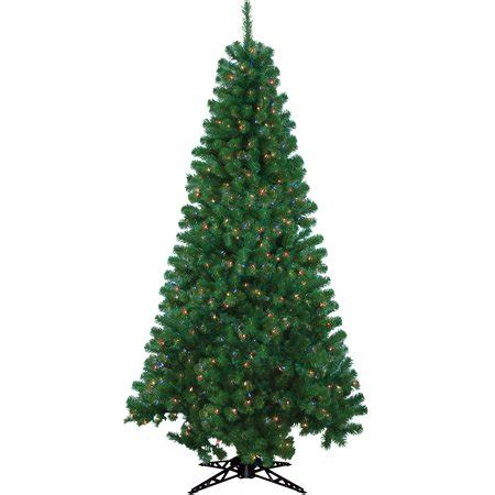 walmart 65 artifical xmas trees pre lit 6 5 rockport artificial tree 300 multi lights walmart